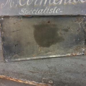 6 plaque emaillee bouche incendie