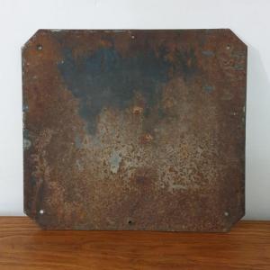 6 plaque emaillee cabine telephonique 1