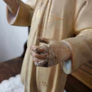 6 statue religieuse enfant