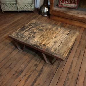 6 table basse palette d