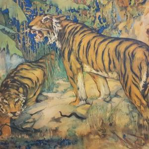 6 tableau scolaire les tigres