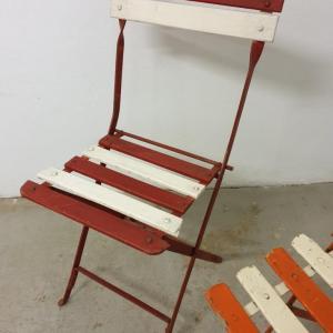 7 chaises de guinguettes