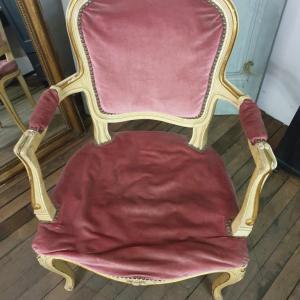 7 fauteuil louis xv