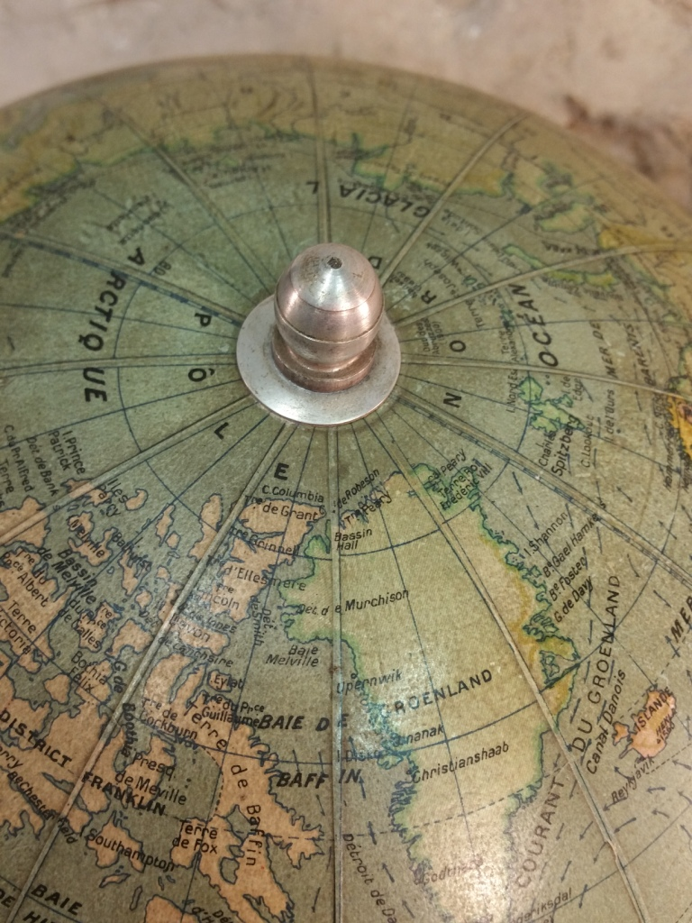7 globe terrestre girard