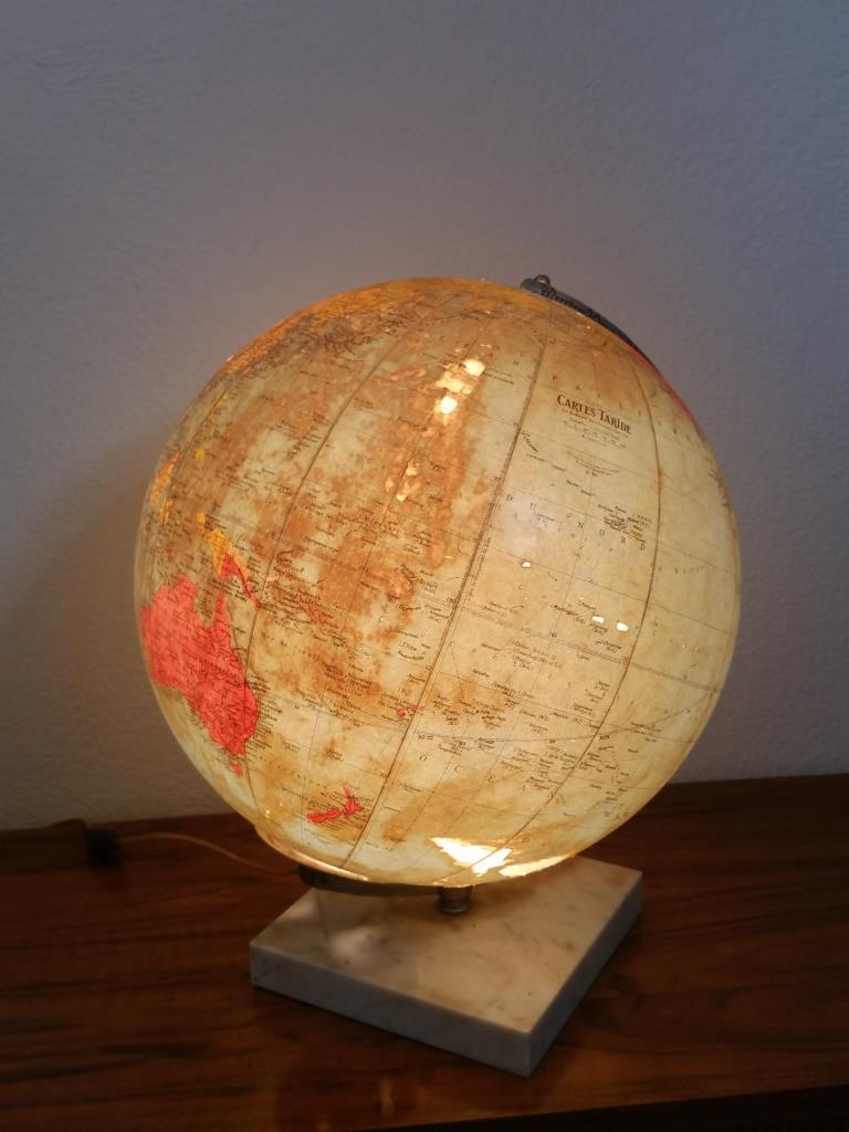 7 globe terrestre lumineux taride