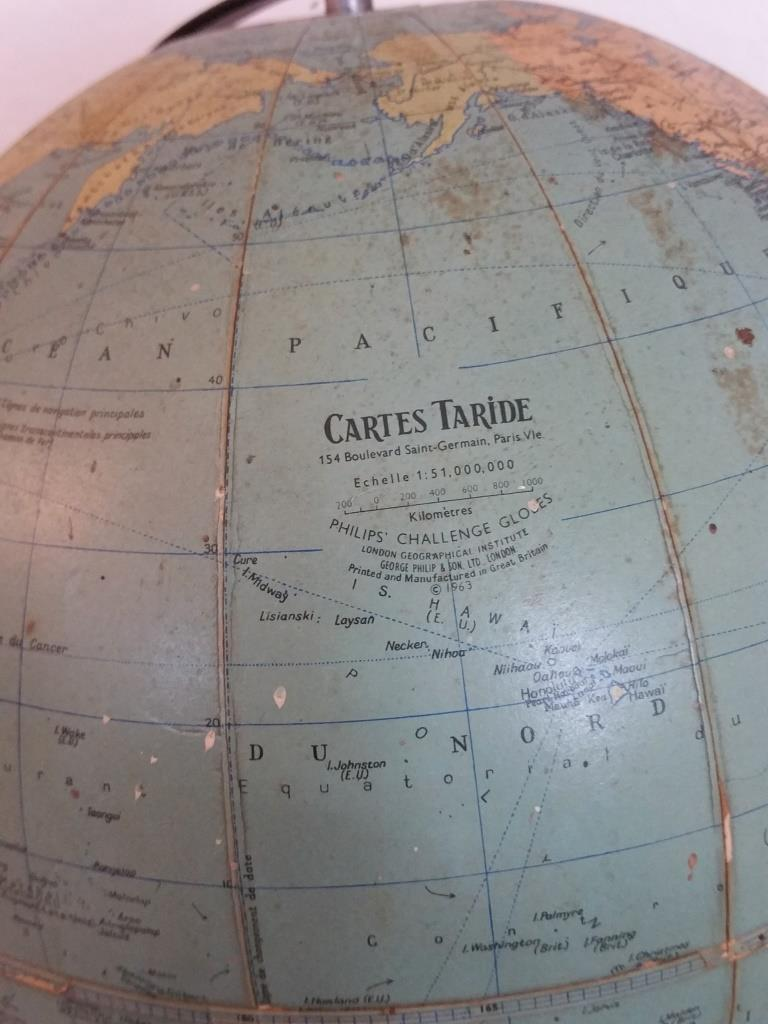 7 globe terrestre taride