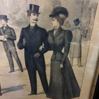 7 grand tableau le renovateur de la mode 1899