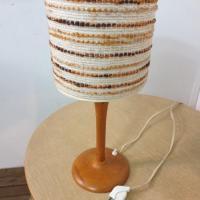 7 lampe bois laine