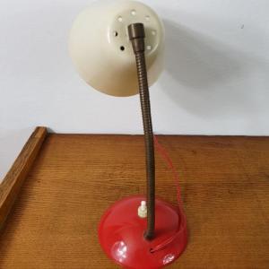 7 lampe cocotte rouge et blanche