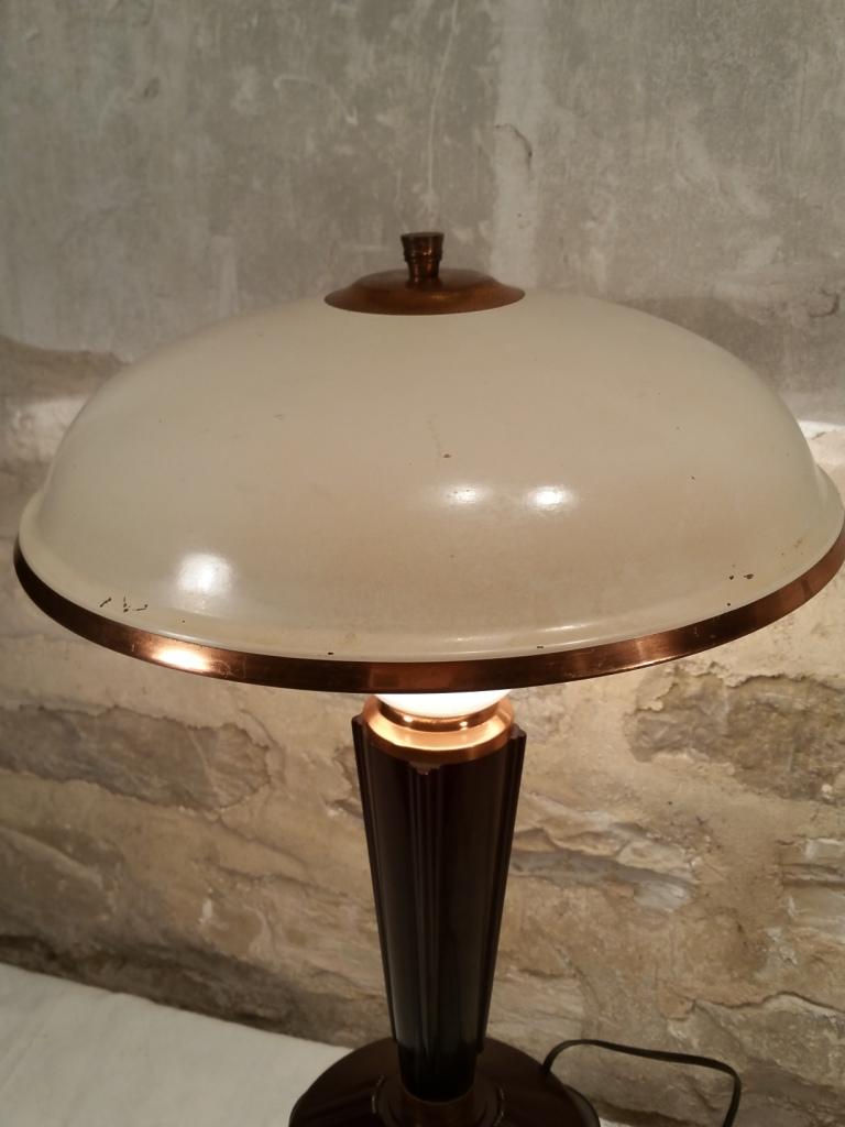 7 lampe jumo art deco