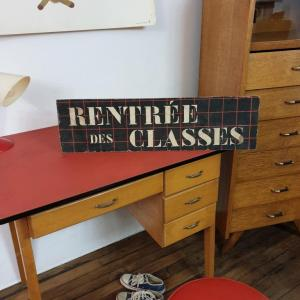 7 panneau rentree des classes