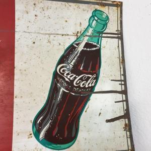 7 plaque coca cola
