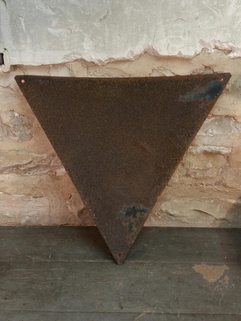 7 plaque emaillee pec
