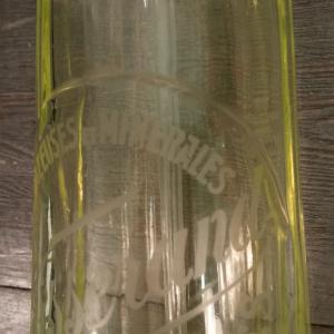 7 siphon canele jaune vert