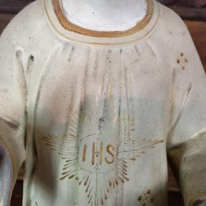 7 statue religieuse enfant