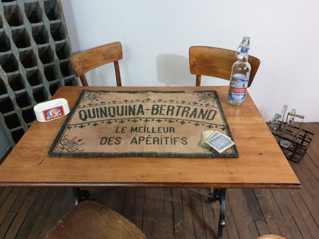 7 tapis de cartes quinquina bertrand