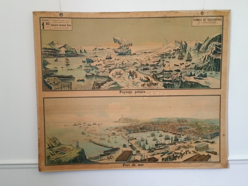 8 affiche scolaire geographie