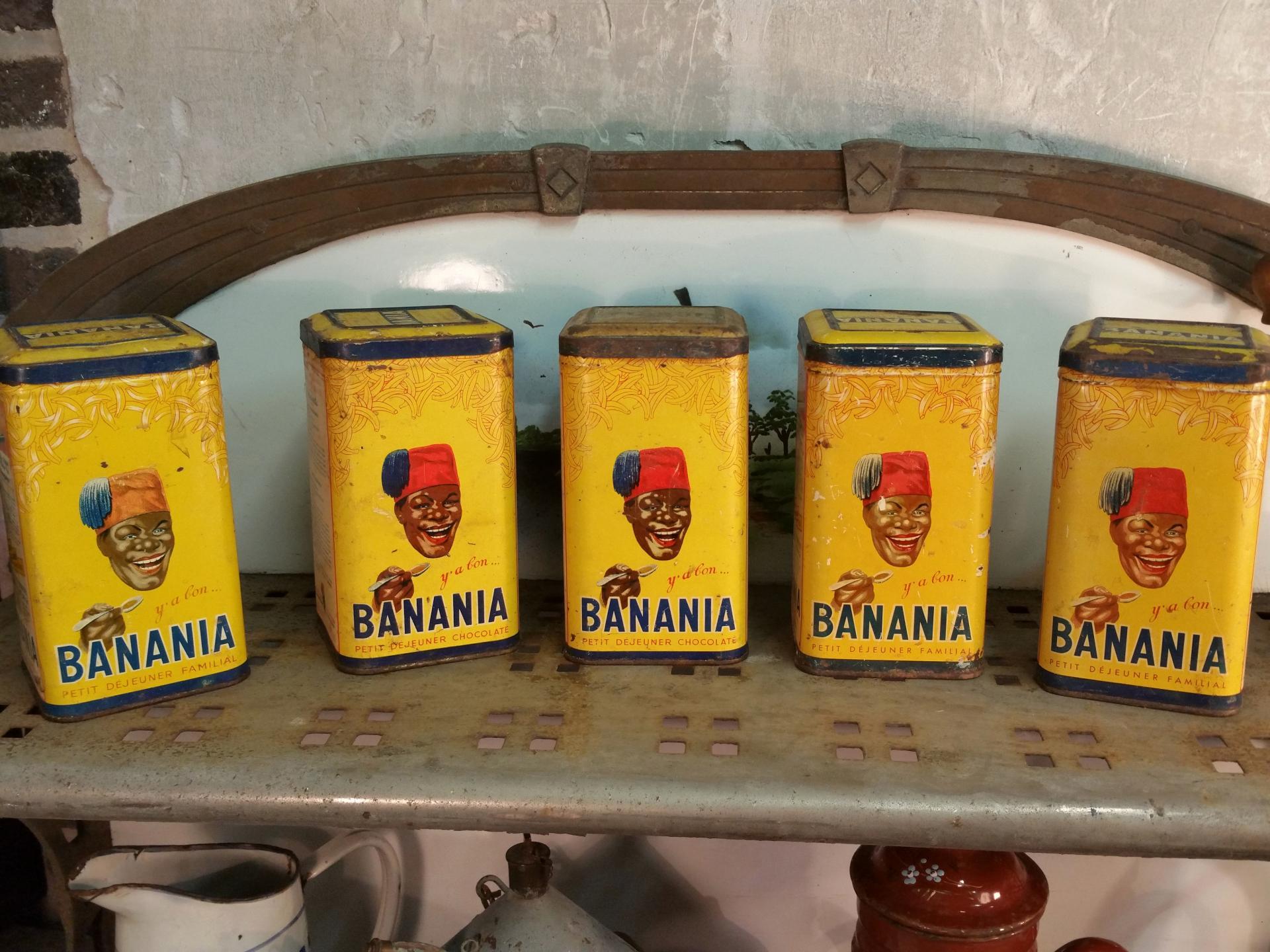 8 boites de banania