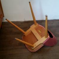 8 chaise vintage diy