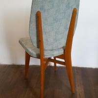 8 chaises vertes 60 s