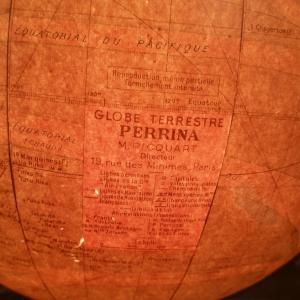 8 globe terrestre lumineux perrina