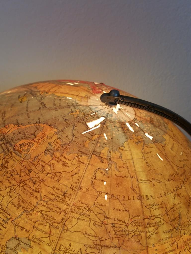 8 globe terrestre lumineux taride