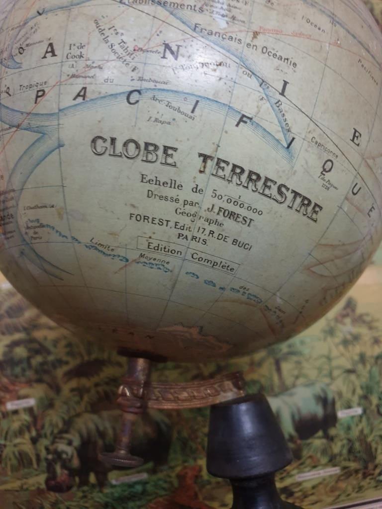 8 globe terrestre nap 3