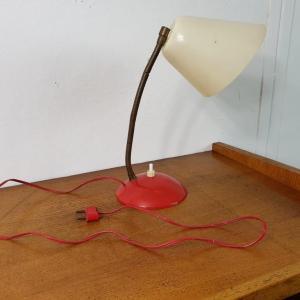 8 lampe cocotte rouge et blanche