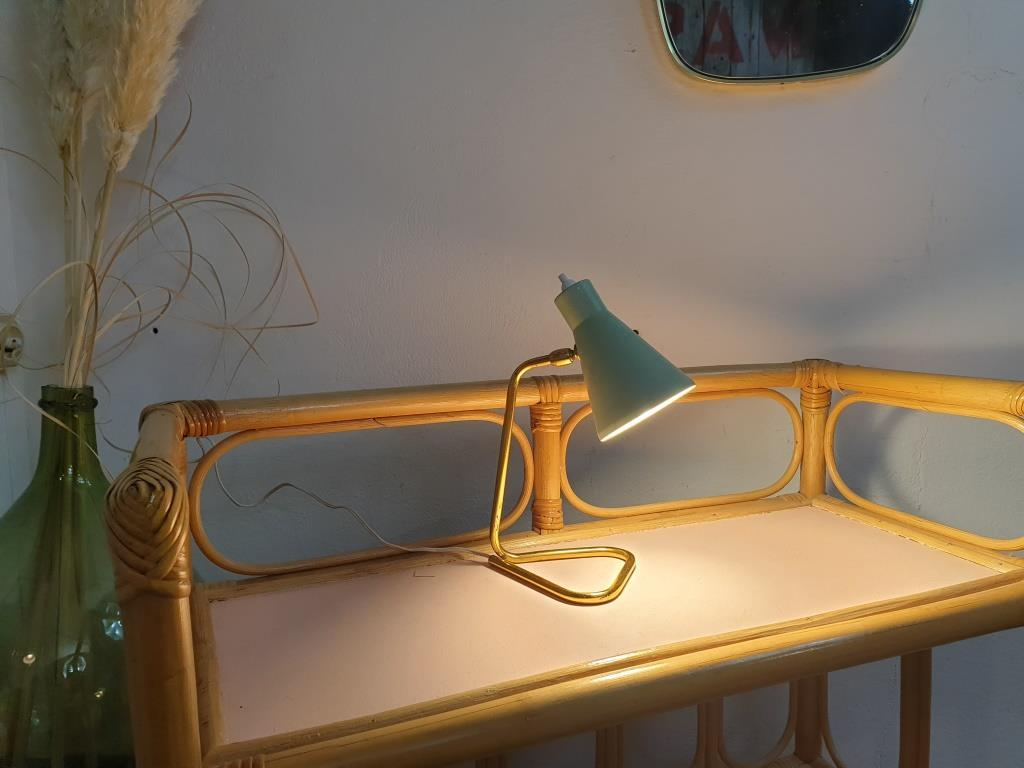 8 lampe cocotte verte pastel