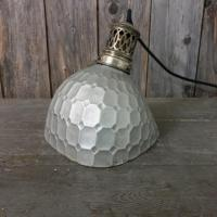 8 lampe holophane verre mercurise