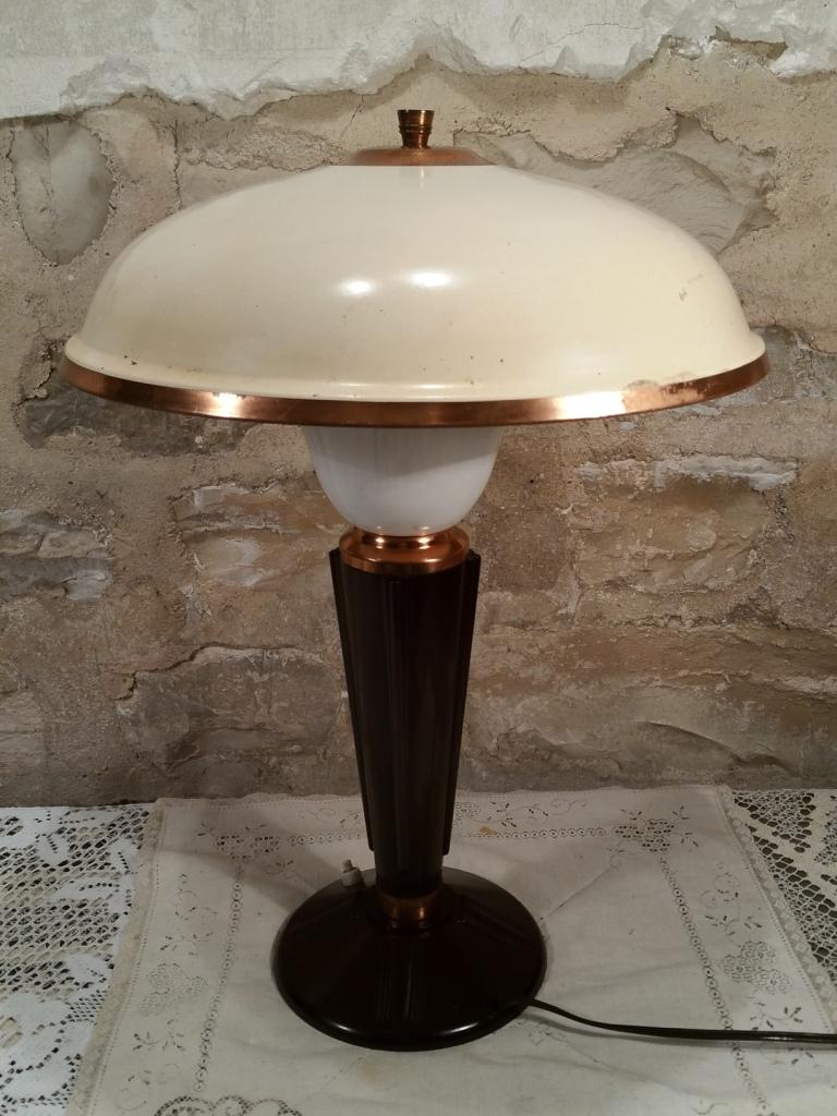 8 lampe jumo art deco