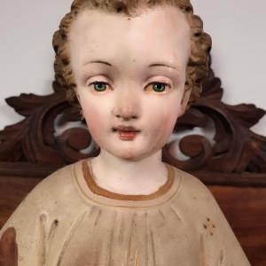 8 statue religieuse enfant