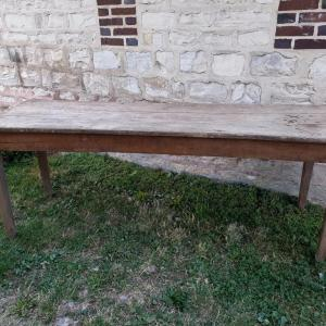 8 table ferme