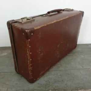 8 valise marron