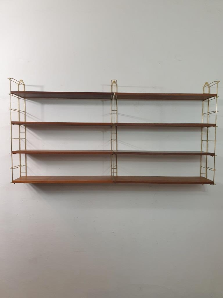 9 etagere string double