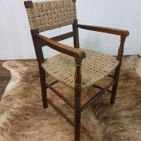 9 fauteuil bois corde