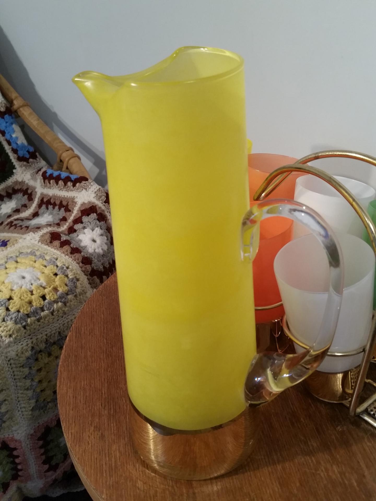 9 service a orangeade 8 verres