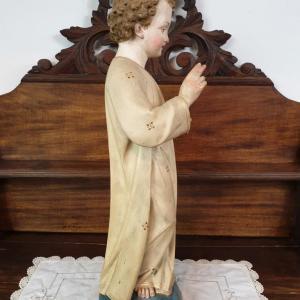 9 statue religieuse enfant
