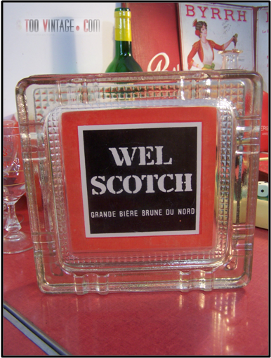 Cendrier Wel Scotch