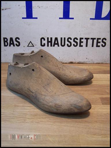 Formes de chaussures
