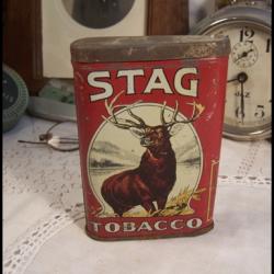 Boite de tabac STAG TABACCO