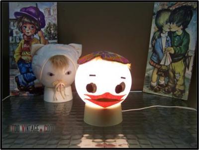 Lampe de chevet Canard
