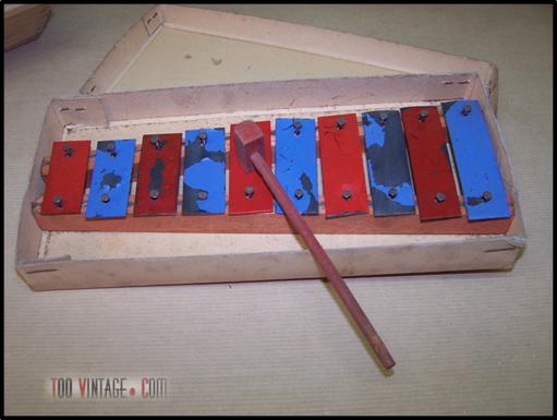 Jeu de construction ancien for Construction xylophone bois