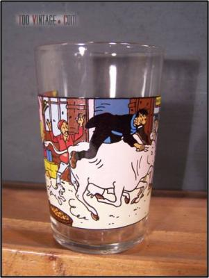 Verre à moutarde TINTIN