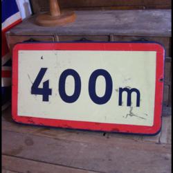 Plaque de signalisation