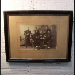 Photographie ancienne Elèves-officiers de St Cyr