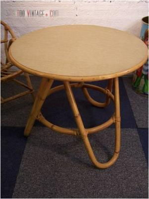Table en osier