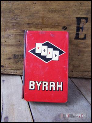Etui de jeu de cartes BYRRH