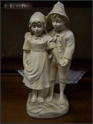 """Statuette """"Les Fiancés"""""""