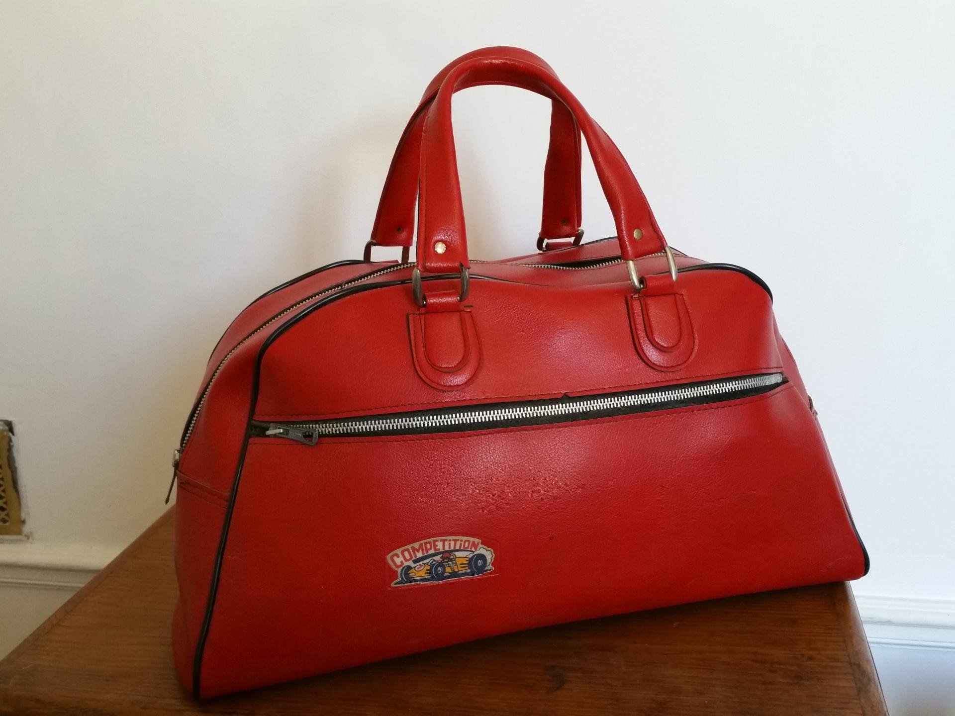 Lbc sac de sport rouge